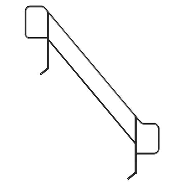 Image of   Jumbo Gelænder trap 250 Udvendig