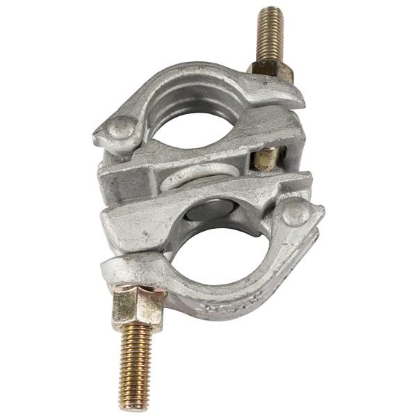 Image of   Jumbo Dobbelt DREJELIG Jern-Kobling 48/48mm.