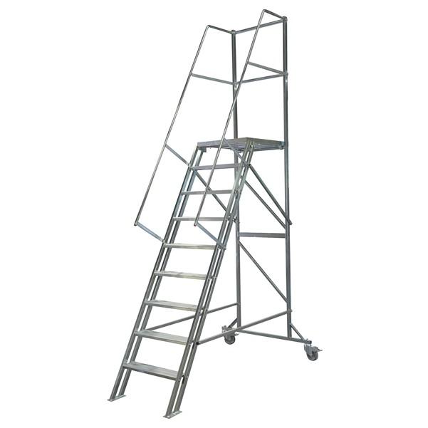 Image of   Laggo Mobil trappa stål-1,80