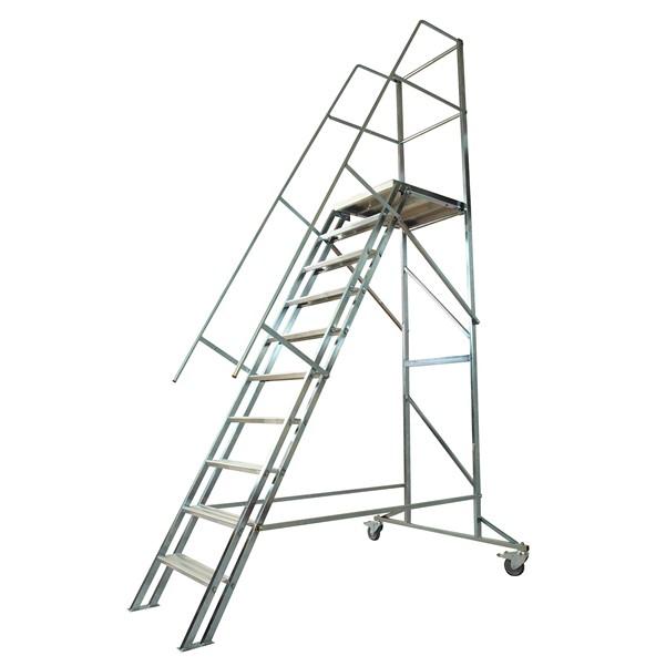 Image of   Laggo Mobil trappa stål-2,00