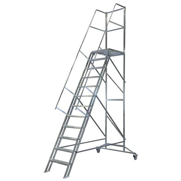 Image of   Laggo Mobil trappa stål-2,40
