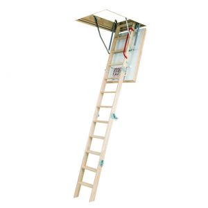 Fakro LWK Lofttrappe Komfort 4 foldesegmenter