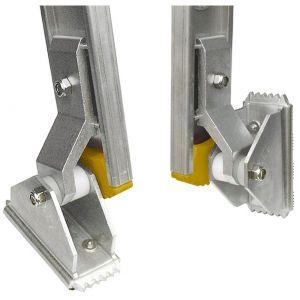 wibe leddelt stigefod med gummibelægning 822057