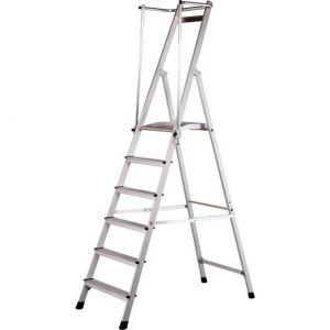 Zarges ZAP Neo S Platformstige Med Sammenklappelig Håndliste