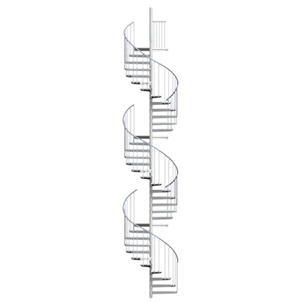 Image of   Scalant Spindeltrappe XXL Maks 8,3m-Ø130