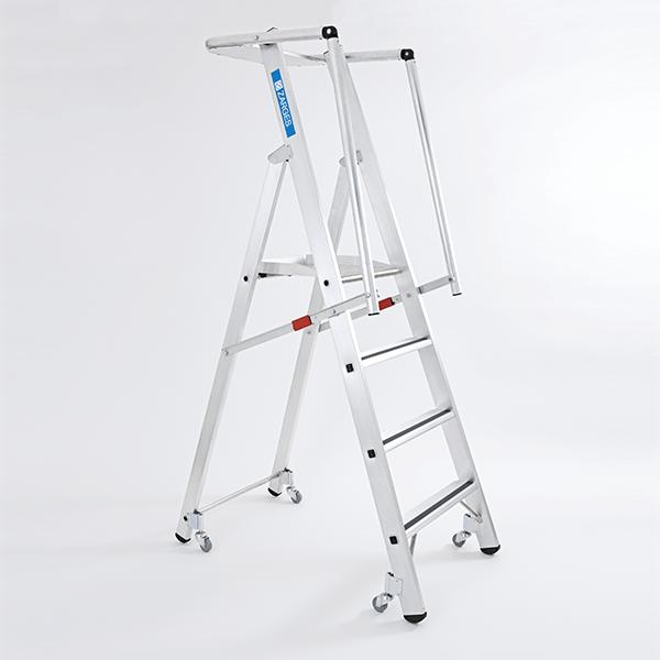 Image of   Zarges ZAP Safemaster S Stigeplatform 2Hf m/hjul